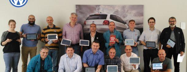 Grupo Volkswagen TOYOYA KATA Blog