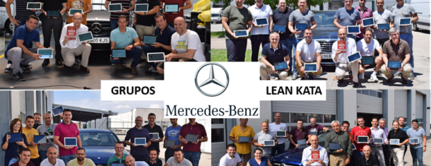 LEAN KATA En Mercedes Benz