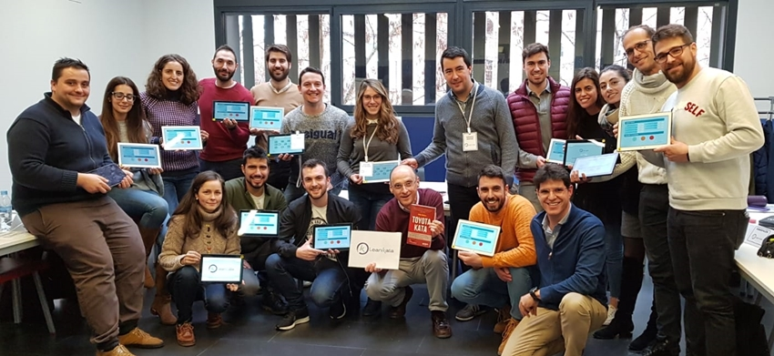 LEAN KATA En El Master De Operaciones De La Escuela De Negocios De Valladolid